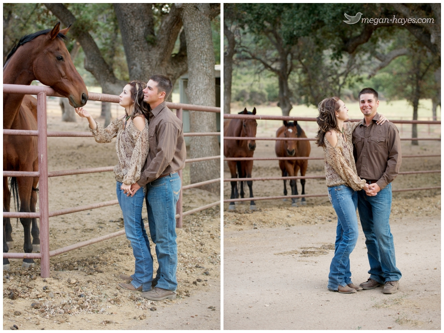 horse ranch engagement