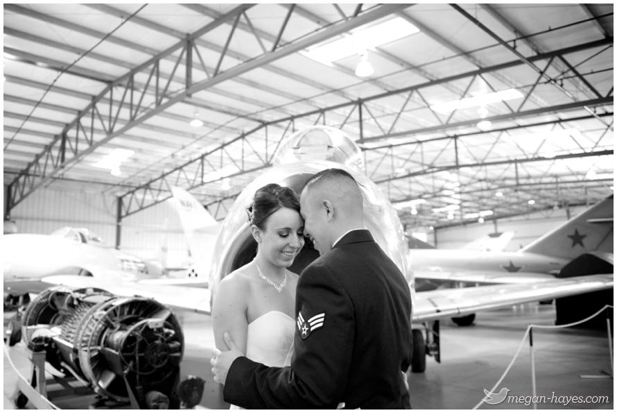 planes of fame wedding