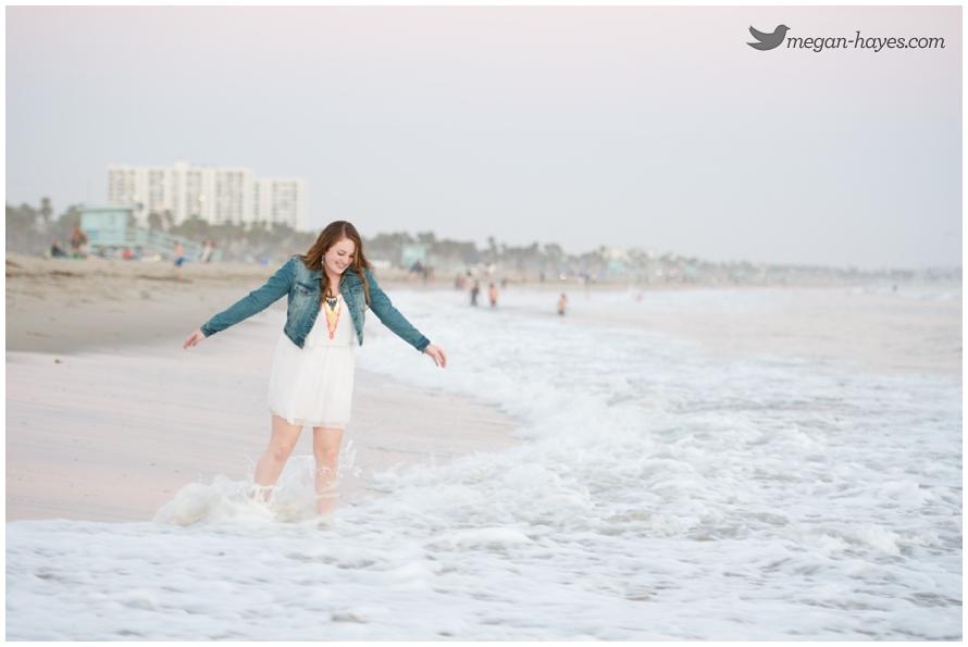 Senior Pictures Santa Monica