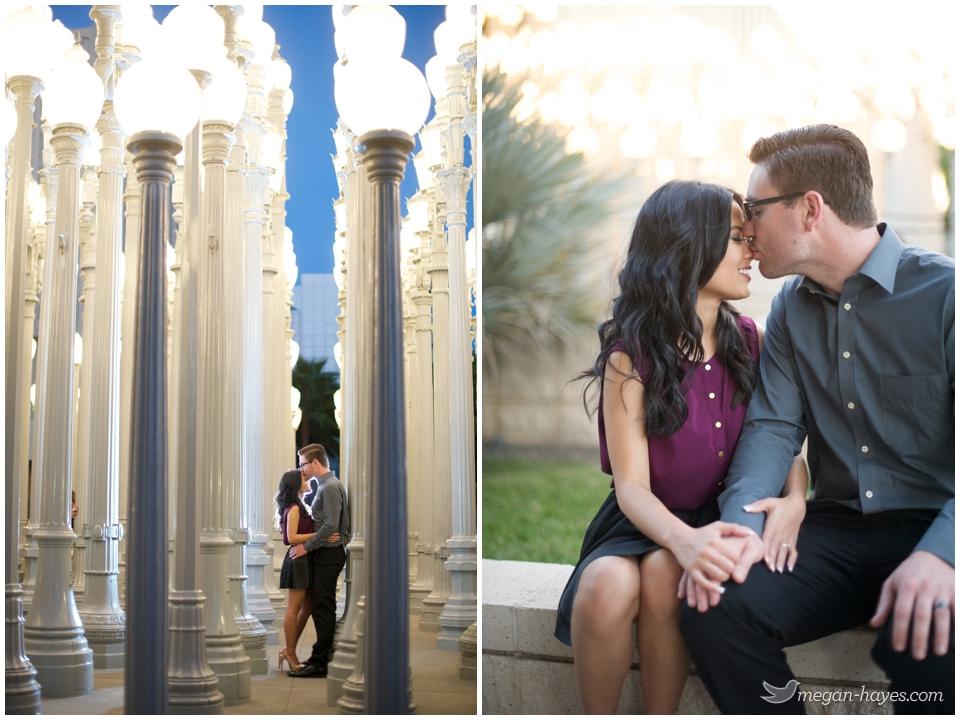 LACMA engagement pictures