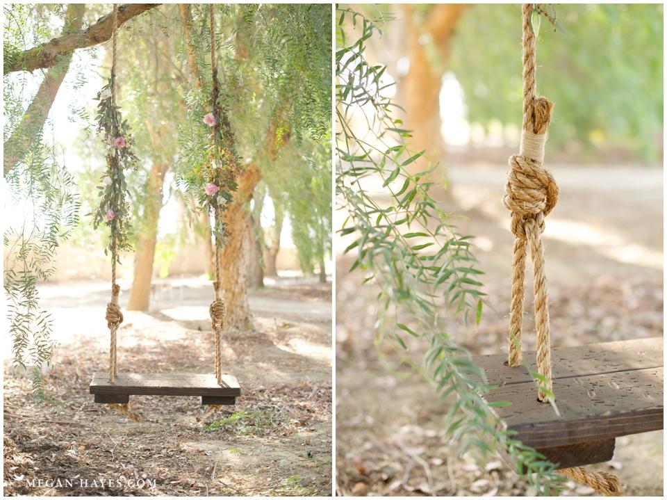 Wooden Tree Swing