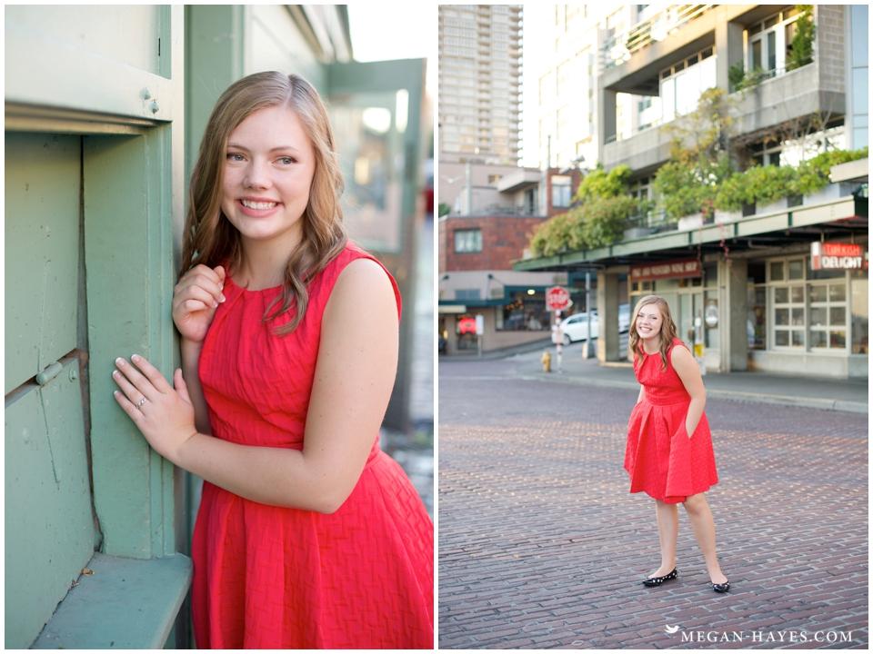 Downtown Seattle Senior Photos