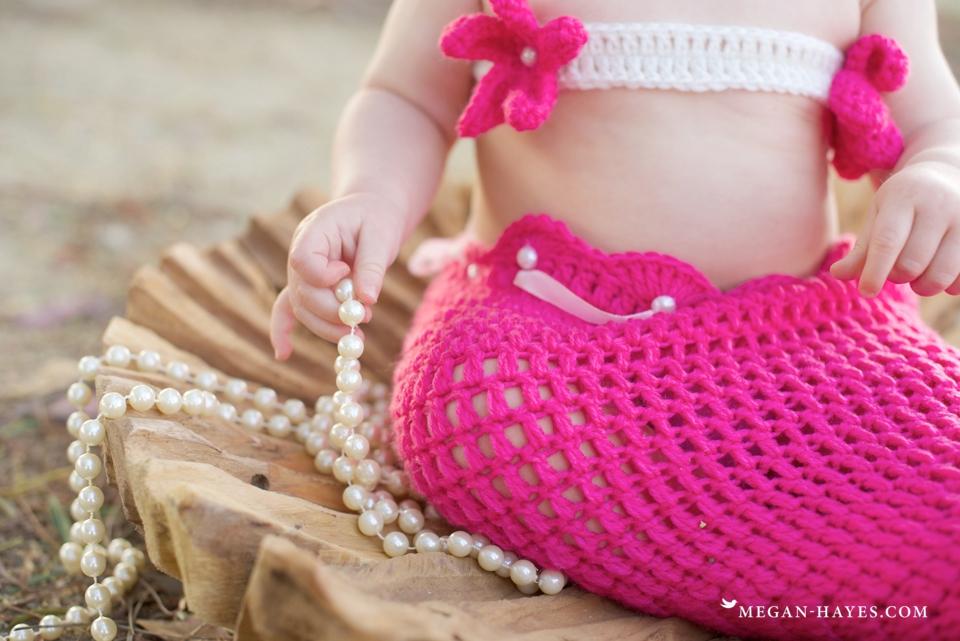 One Year Old Mermaid Birthday
