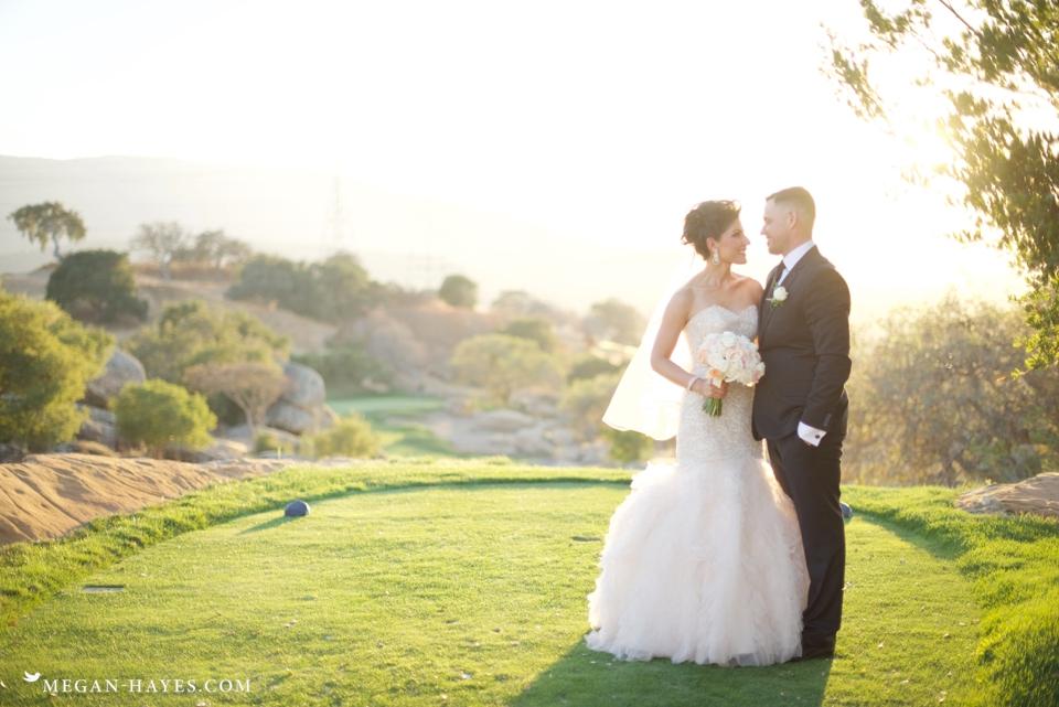 Boulder Ridge Golf Club Wedding