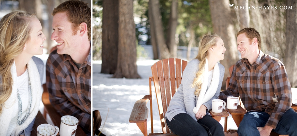 Mammoth Lakes Engagement Photos
