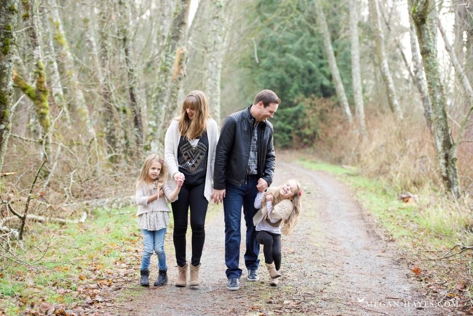 Washington Woodland Family Photos