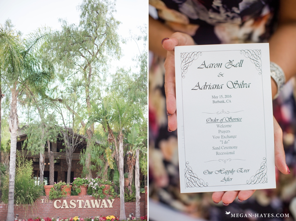 Castaway Burbank Wedding